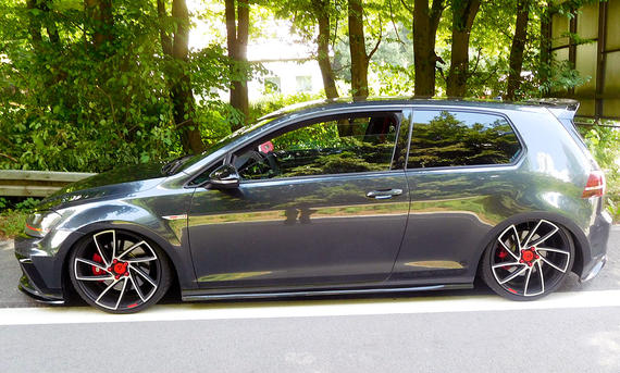 VW Golf GTI Clubsport stillgelegt