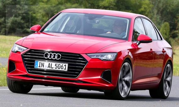 Audi A4 Facelift (2019)