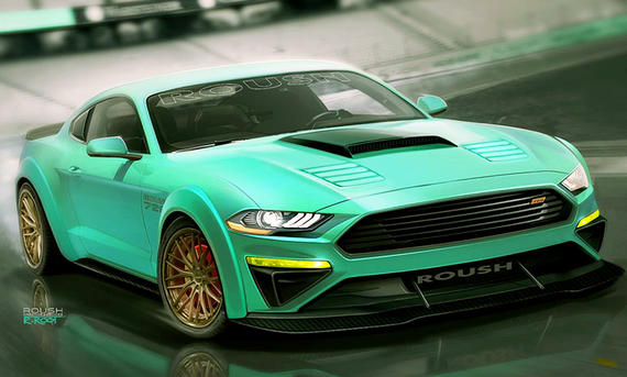 Ford Mustang von Roush