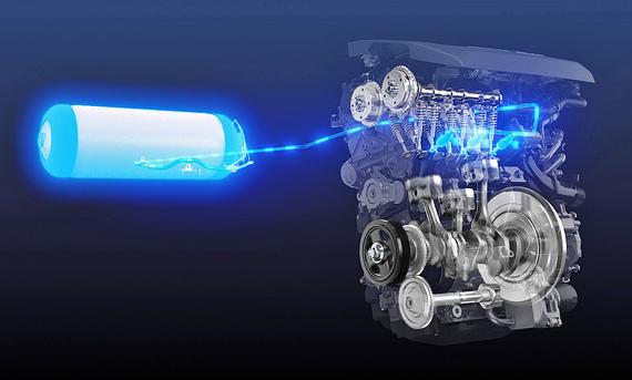 Toyota: Wasserstoffmotor