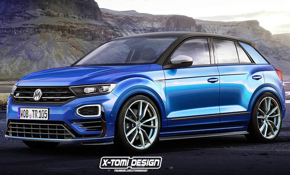 vw t roc r 2018 neue fotos update. Black Bedroom Furniture Sets. Home Design Ideas