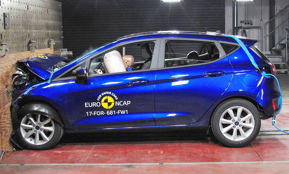 Ford Fiesta im Crashtest
