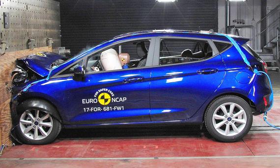 Ford Fiesta im Crashtest