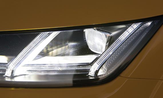 Lichttest Service Ratgeber Audi TT LED Vergleich