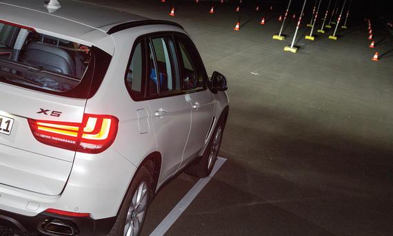 Lichttest Service Ratgeber BMW X5 LED Vergleich