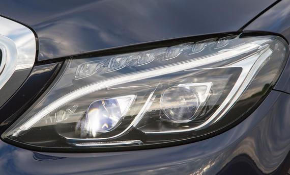 Lichttest Service Ratgeber Mercedes C-Klasse LED Vergleich