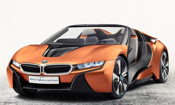 BMW i8 Spyder (2018)