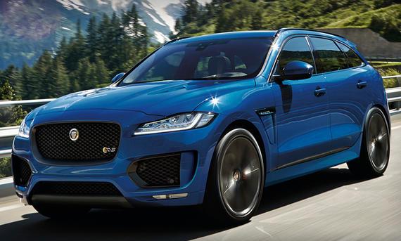 Jaguar F-Pace R (2017)