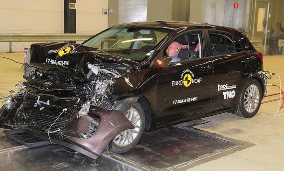 Kia Rio im Crashtest
