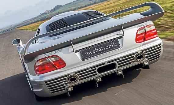 Homologations-Exot Mercedes CLK GTR
