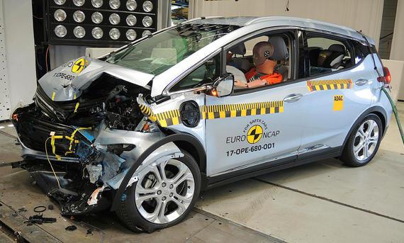 Opel Ampera-e im Crashtest