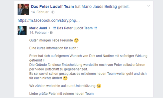 Peter Ludolf L-Team