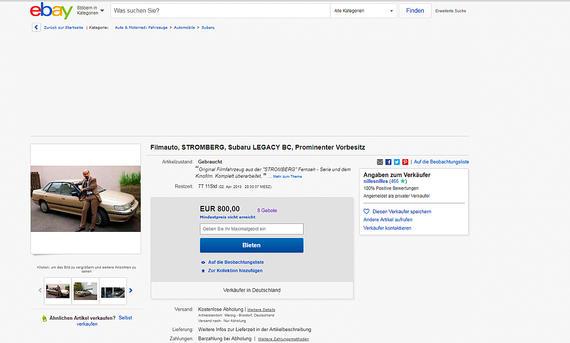 Subaru Lagacy: Auktion