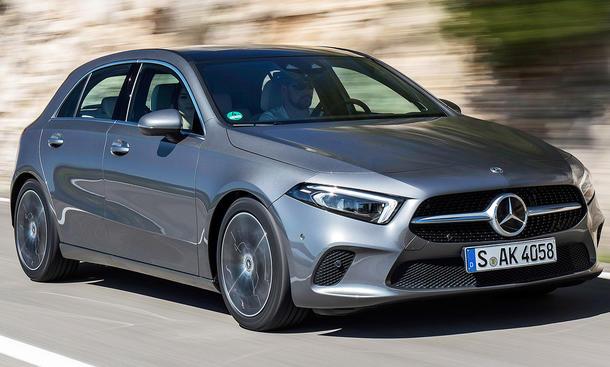 Mercedes A-Klasse mit Plug-in-Hybrid