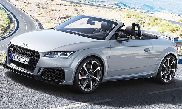 Audi TT RS Roadster Facelift (2019)