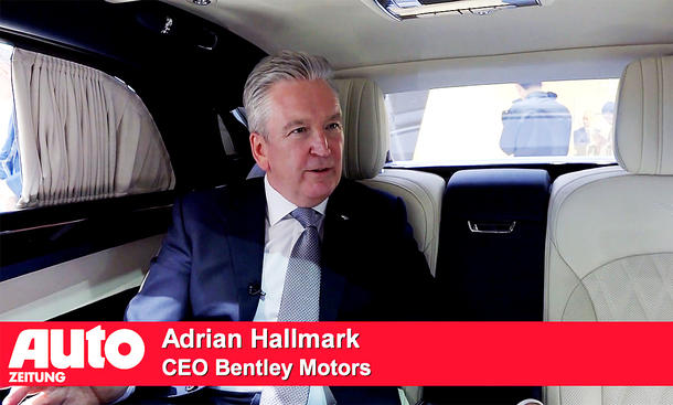 Adrian Hallmark (CEO Bentley Motors)