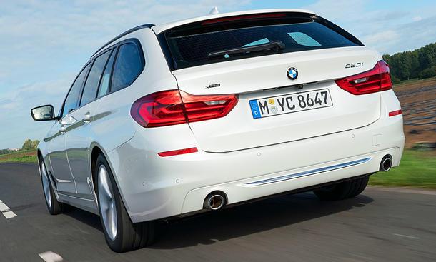 BMW 530i Touring: Test