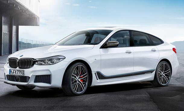 BMW 6er GT Sonderausstattung