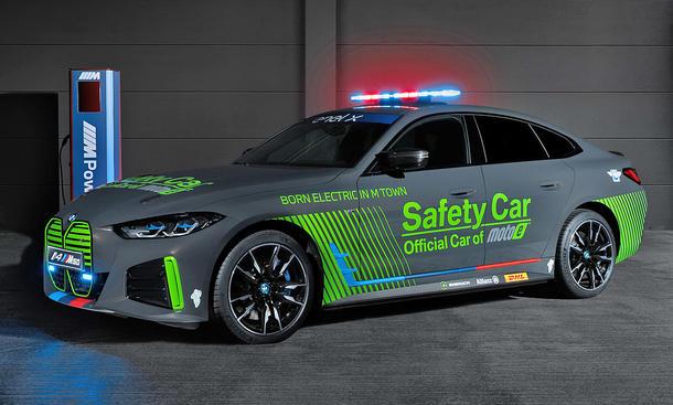 BMW i4 M50 Safety Car (2021)