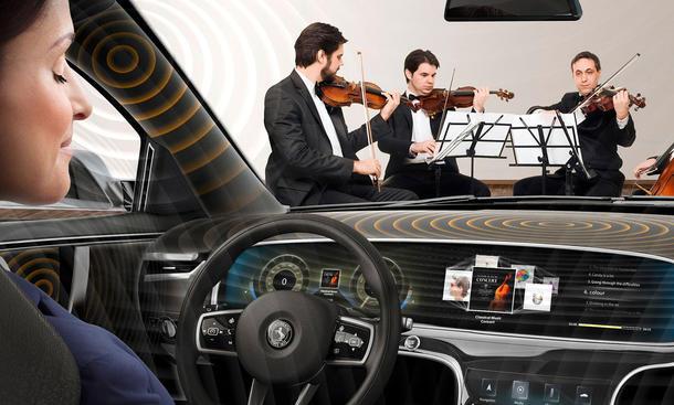Continental entwickelt neues Soundsystem