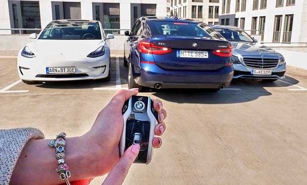 Ferngesteuertes Parken: Test