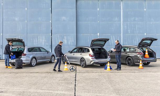 VW Passat Variant/BMW 3er Touring/Opel Insignia Sports Tourer