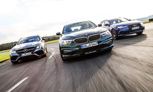RS 6 Avant performance/Alpina B5 Biturbo Touring/Mercedes-AMG E 63 S 4MATIC + T-Modell