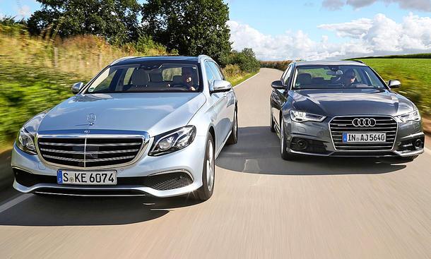 Mercedes E-Klasse T-Modell/Audi A6 Avant: Gebrauchtwagen kaufen