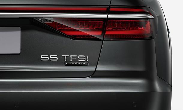 Audi ändert Nomenklatur