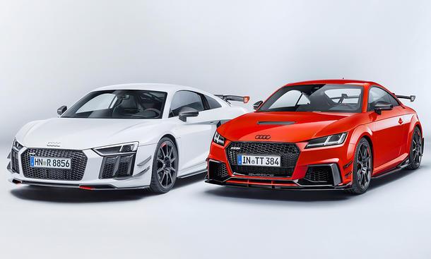 Audi R8 und TT mit Sport Performance Parts
