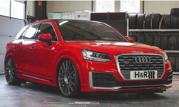 Audi Q2 Tuning-Challenge