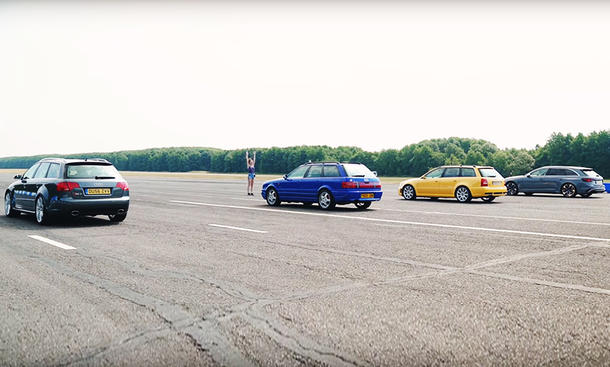 Audi RS2 & RS 4 (1994-2017)