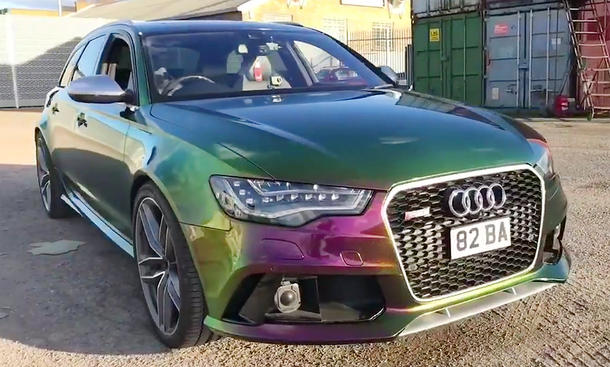 Audi RS 6 im Flipflop-Look