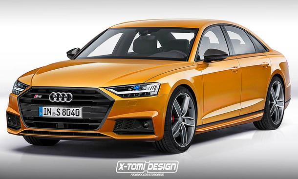 Audi S8 (2017)