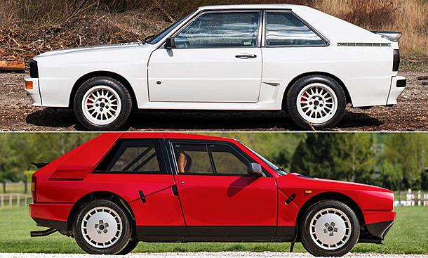 Audi Sport quattro/Lancia Delta S4 Stradale
