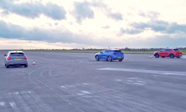 Audi SQ2/BMW X2/VW T-Roc R