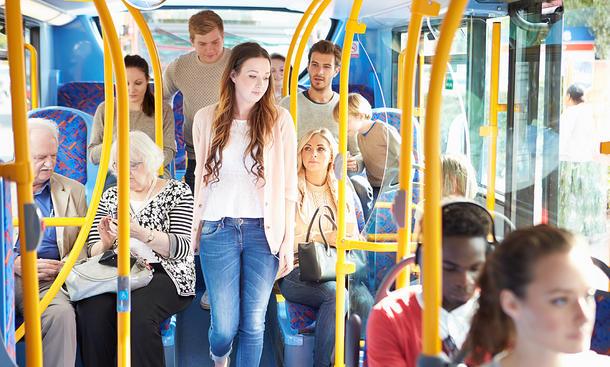 Auf öffentliche Verkehrsmittel umsteigen