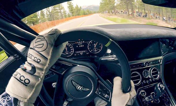 Bentley Continental GT W12: Pikes-Peak-Rekord