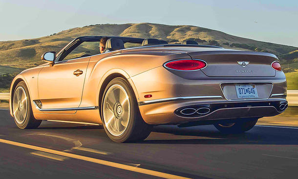 Bentley Continental GTC V8 (2020)