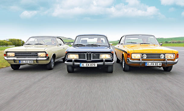 Commodore 2500/2000 TII/17M RS: Classic Cars