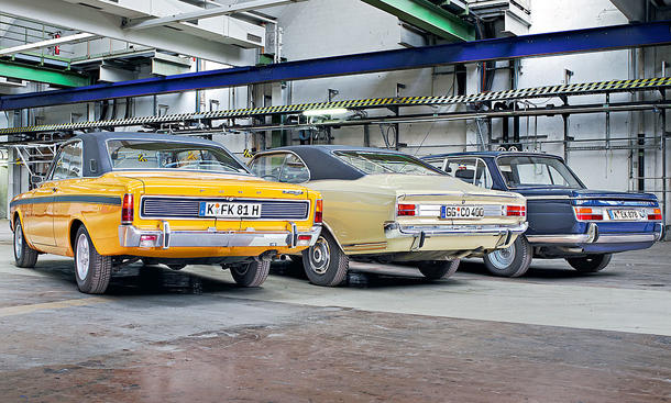 Ford 17M RS 2300 S/Opel Commodore 2500 S/BMW 2000 TII
