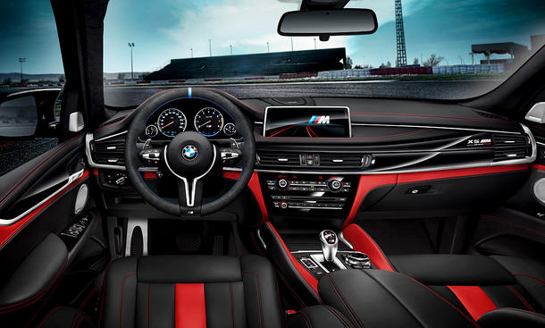 BMW X5 M Edition Black Fire