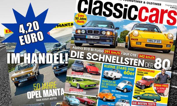 AUTO ZEITUNG Classic Cars 08/20