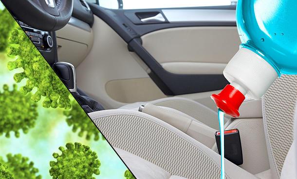 Coronavirus – Hygiene im Auto