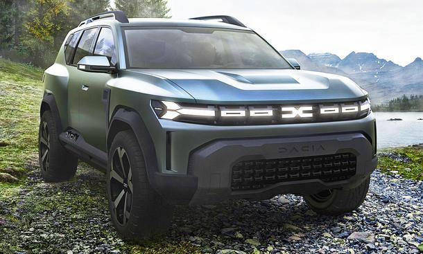Dacia Bigster Concept (2021)