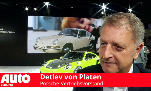Porsche auf der New York Auto Show 2018