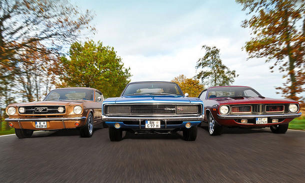Mustang/Charger/Barracuda: Classic Cars