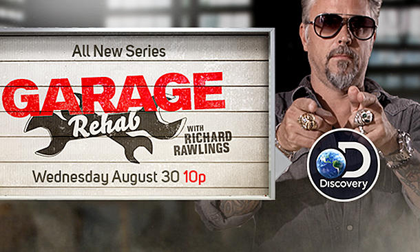 """Garage Rehab"" mit Richard Rawlings"