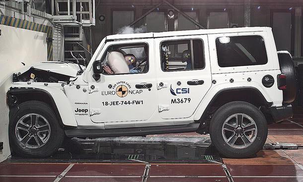 Jeep Wrangler (2018): Crashtest