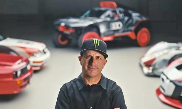 Ken Block bei Audi